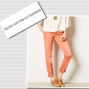 Pilcro and the Letterpress Skinny Crop Jeans 27
